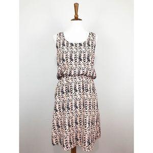 Pixley A-line Printed Dress Medium Stitch Fix